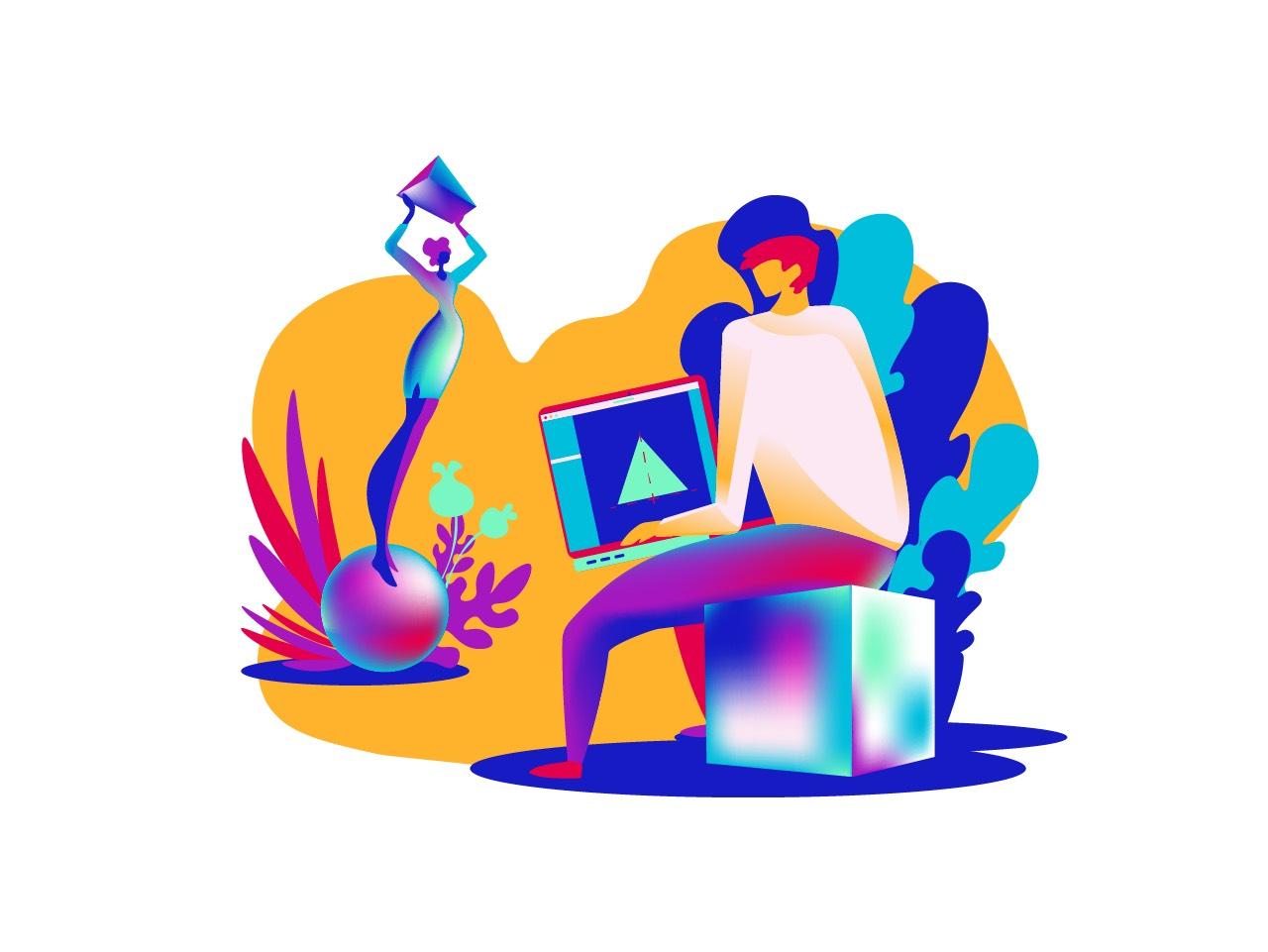 成功的视觉构图很大程度上利用了人们对于图形感知上的规律。影响人类感知的因素有很多,其中大多都和心理学息息相关。图形和形状当中,也蕴含着深刻的心理学原理,今天的文章我们来讨论一下图形中的规律,以及它们是如何影响设计师创作的。