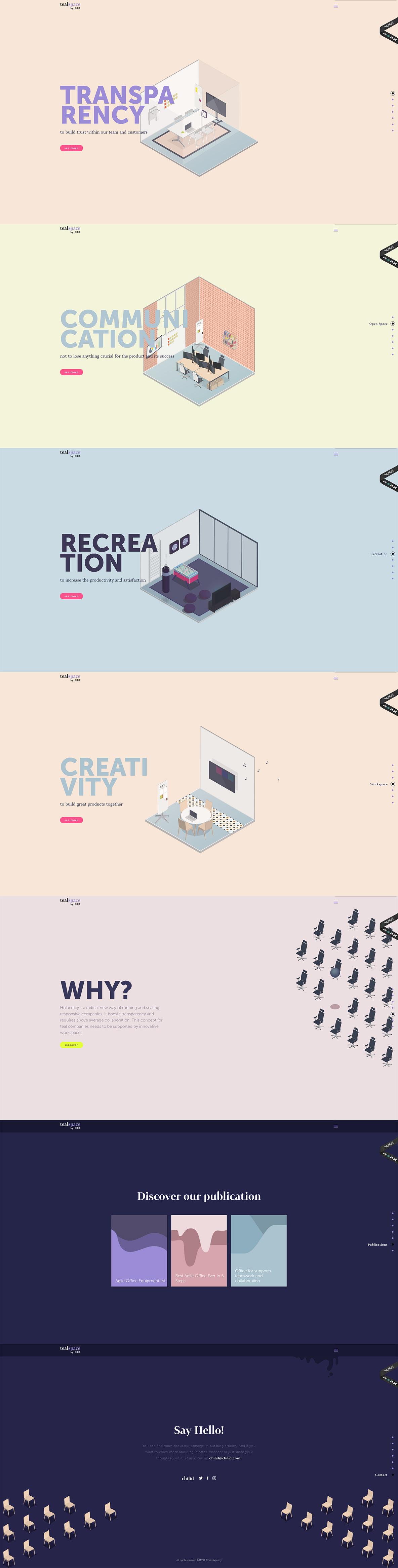 Teal Workspace by Chilid-创意,网页设计,创意设计,创意网站,字体设计,设计网站,设计作品,网站欣赏,优,ui设计,设计,设计师,平面设计,电商设计,动漫设计,网站设计