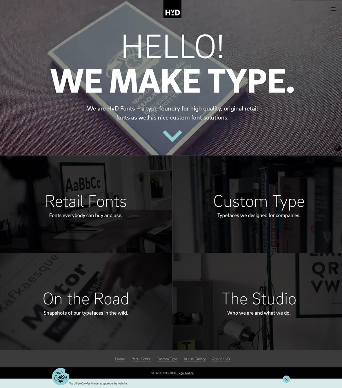 HvD Fonts-创意,网页设计,创意设计,创意网站,网站设计,创意作品,设计作品,网站欣赏,优,ui设计,设计,设计师,优秀设计