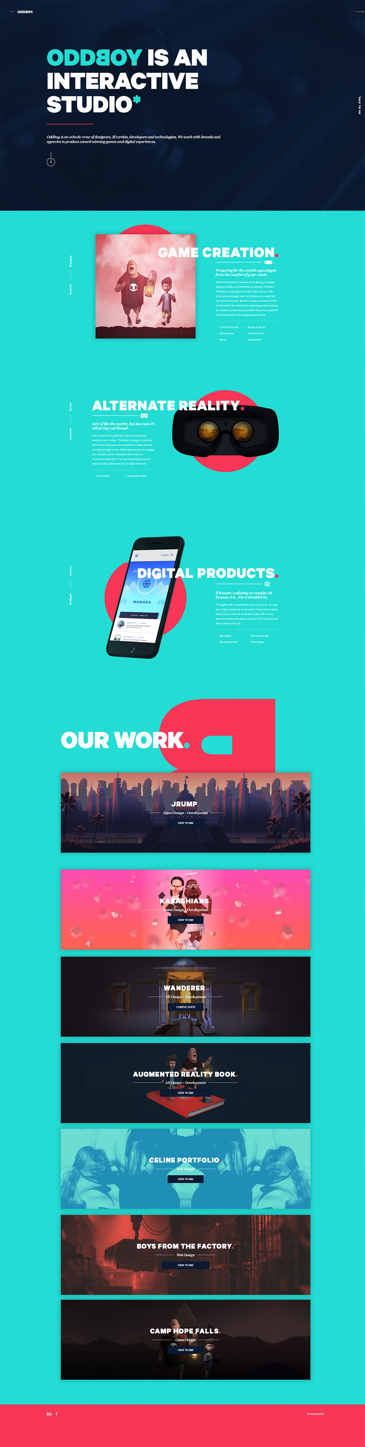 Oddboy-创意,网页设计,创意设计,创意网站,网站设计,创意作品,设计作品,网站欣赏,优,ui设计,设计,设计师,优秀设计