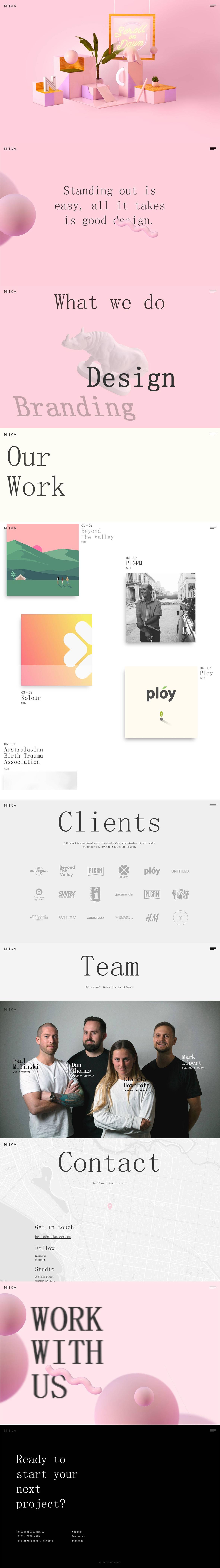 Niika-创意,网页设计,创意设计,创意网站,字体设计,设计网站,设计作品,网站欣赏,优,ui设计,设计,设计师,平面设计,电商设计,动漫设计,网站设计