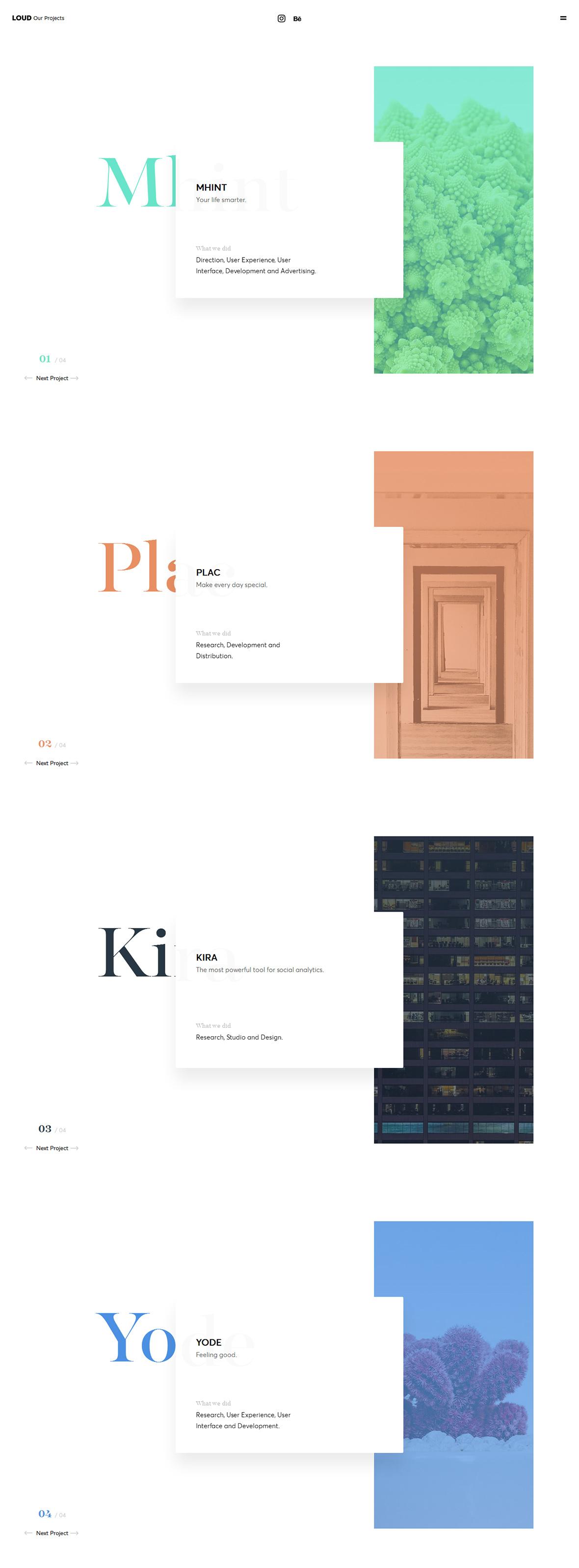 LOUD-创意,网页设计,创意设计,创意网站,网站设计,创意作品,设计作品,网站欣赏,优,ui设计,设计,设计师,优秀设计