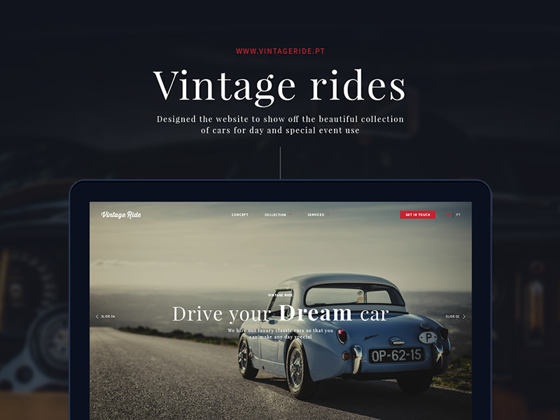 Vintage Rides - beautiful clas